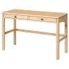 HEMNES çalışma masası, açık kahverengi, 120x47 cm