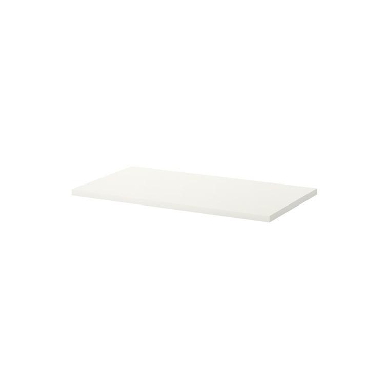 LINNMON çalışma masası tablası, beyaz, 120x60 cm