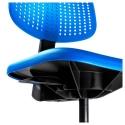 ALRIK dönen sandalye, mavi 61x61x89 cm