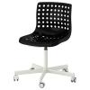 SKALBERG dönen sandalye, siyah-beyaz 71x71x90 cm