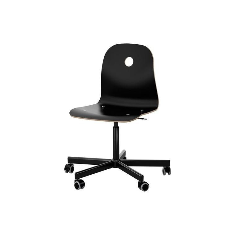 VAGSBERG dönen sandalye, siyah