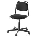 ÖRFJALL/SPORREN dönen sandalye, siyah 65x65x96 cm
