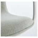 LANGFJALL dönen sandalye, gunnared açık yeşil-beyaz 67x67x92 cm