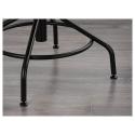 KULLABERG dönen sandalye, çam-siyah 58x58x94 cm