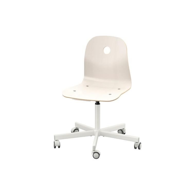 VAGSBERG dönen sandalye, beyaz