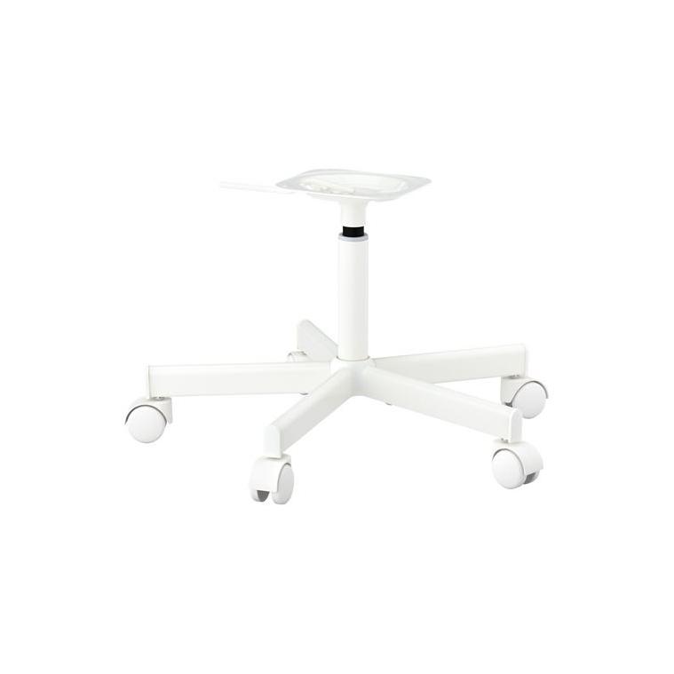 JULES dönen sandalye iskeleti, beyaz 58x56x34 cm