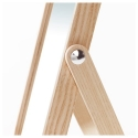 IKORNNES masa aynası, dişbudak, 27x40 cm