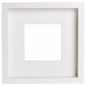 RIBBA çerçeve, beyaz, 23x23 cm