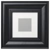 SKATTEBY çerçeve, siyah, 20x20 cm