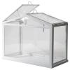 SOCKER sera, beyaz-cam, 45x22x35 cm