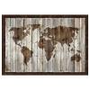 BJÖRKSTA resim, tahtalardan harita, 200x140 cm