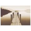 BJÖRKSTA resim, şafakta dalgakıran, 78x118 cm