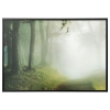 BJÖRKSTA çerçeveli resim, orman yolu-siyah, 200x140 cm