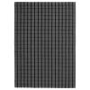 FOULUM halı, gri-siyah, 170x240 cm