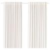 MILDRID perde/2 kanat, beyaz-beyaz, 145x300 cm