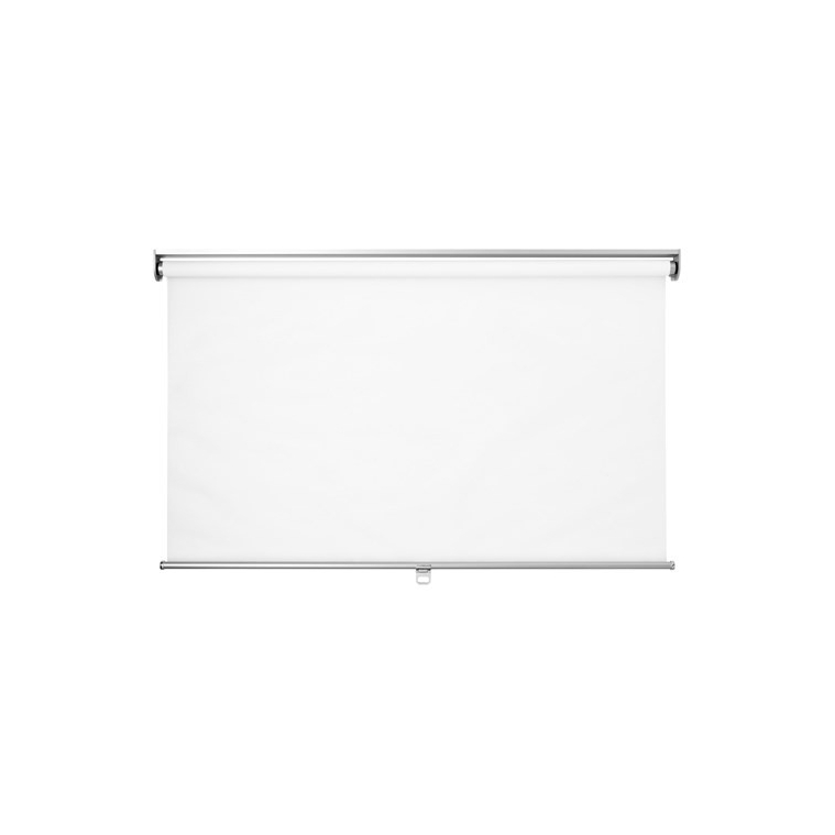 SKOGSKLÖVER stor perde, beyaz, 140x195 cm