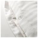 NATTJASMIN çift kişilik nevresim takımı, beyaz, 240x220/50x60 cm