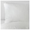 NATTJASMIN tek kişilik nevresim takımı, beyaz, 150x200/50x60 cm