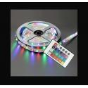MAX ŞERİT LED RGB 44 TUŞLU KUMANDALI 5050 SMD 5 METRE 3 ÇİP