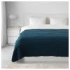 VARELD çift kişilik yatak örtüsü, koyu mavi, 230x250 cm