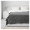 TRATTVIVA çift kişilik yatak örtüsü, gri, 230x250 cm