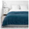 GULVED çift kişilik yatak örtüsü, koyu mavi, 260x250 cm