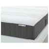 HÖVAG çift kişilik yatak, gri-sert, 140x200 cm