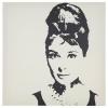 PJATTERYD resim, audrey hepburn, 90x90 cm
