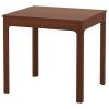 EKEDALEN açılabilen yemek masası, kahverengi, 80/120x70 cm