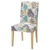 HENRIKSDAL sandalye, huş-gillhov çok renkli 51x58x97 cm
