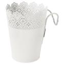 SKURAR çiçeklik, beyaz, 15 cm
