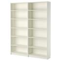 BILLY kitaplık, beyaz, 160x202x28 cm