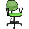 2077F0543 - Bürocci Fileli Çalışma Koltuğu-Yeşil File