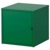 LIXHULT dolap, koyu yeşil, 35x35 cm