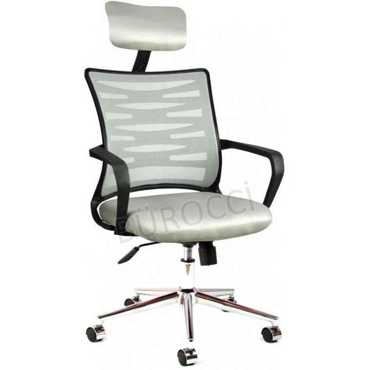 2063D0546 - Bürocci Alisa Metal Ayaklı Ofis Koltuğu - Gri