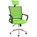 2063D0543 - Bürocci Alisa Metal Ayaklı Ofis Koltuğu - Yeşil