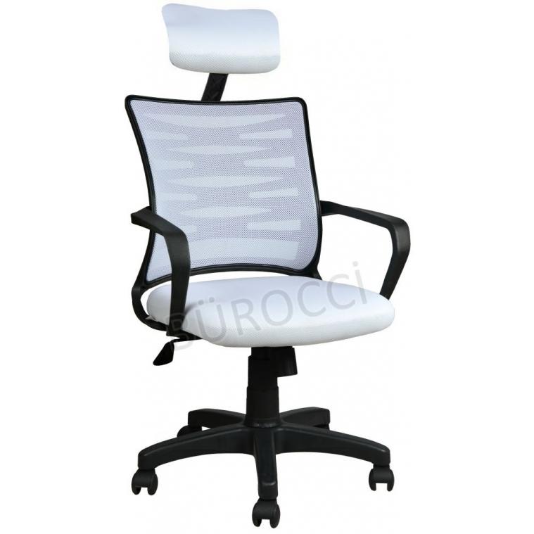 2063C0550 - Bürocci Alisa Plastik Ayaklı Ofis Koltuğu - Beyaz