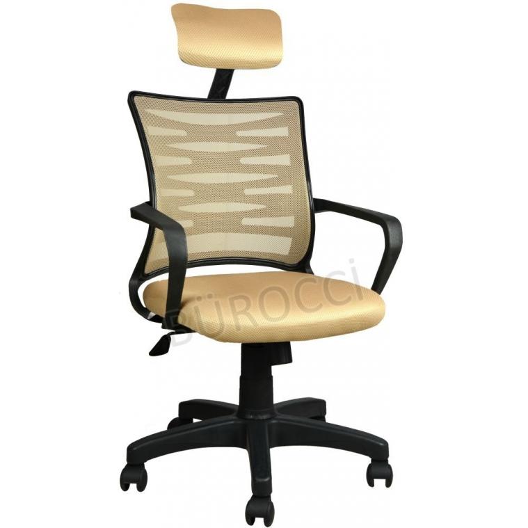 2063C0544 - Bürocci Alisa Plastik Ayaklı Ofis Koltuğu - Hardal