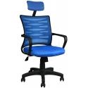 2063C0542 - Bürocci Alisa Plastik Ayaklı Ofis Koltuğu - Mavi