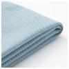HOLMSUND yataklı köşe kanepe kılıfı, orrsta açık mavi