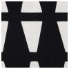 LYCKSELE 2'li yataklı kanepe kılıfı, ebbarp siyah-beyaz