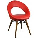 2222I0116 - Bürocci Miranda Cafe Koltuğu-Kırmızı