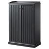 ARKELSTORP büfe, siyah, 93x133 cm