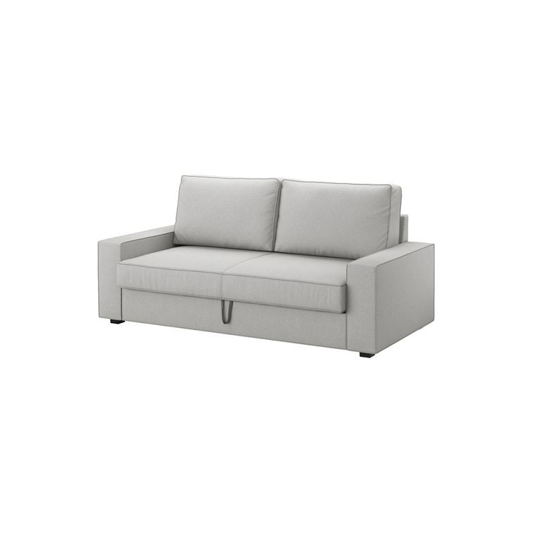 VILASUND/MARIEBY 3'lü yataklı kanepe, orrsta açık gri 202x88x71 cm