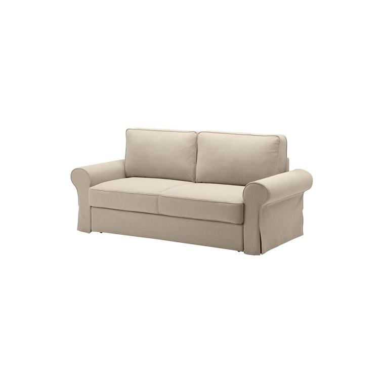 BACKABRO/MARIEBY 3'lü yataklı kanepe, hylte bej 208x88x71 cm