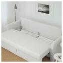 HOLMSUND 3'lü yataklı kanepe, orrsta açık beyaz-gri 230x91x96 cm