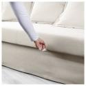 HOLMSUND 3'lü yataklı kanepe, nordvalla bej 230x91x96 cm