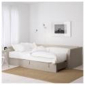 HOLMSUND 3'lü yataklı kanepe ve uzanma koltuğu, nordvalla bej 230x90x90 cm