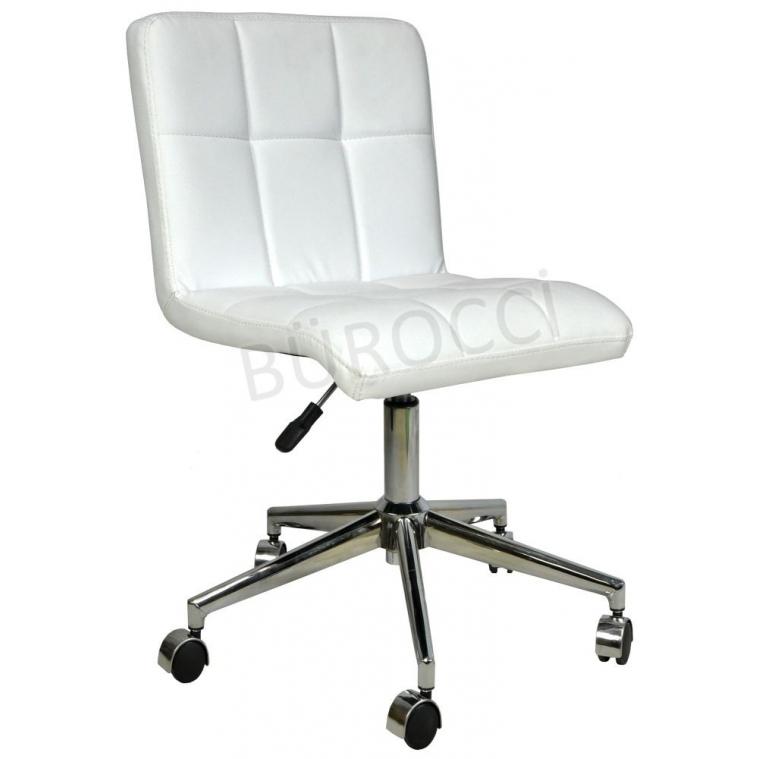 9503C0109 - Bürocci Carla Çalışma Koltuğu - Beyaz Deri