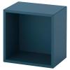 EKET dolap, koyu mavi, 35x25x35 cm